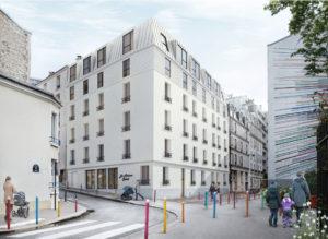 Rue soleil façade