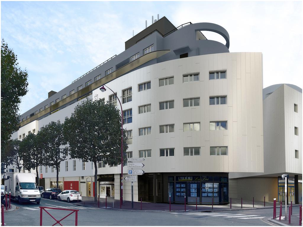 Pre Saint Gervais façade